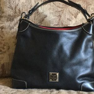 Dooney and Bourke Black pebble finish
